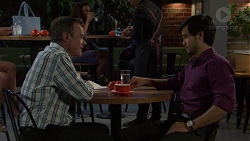 Paul Robinson, David Tanaka in Neighbours Episode 7580