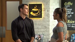 Jack Callaghan, Paige Novak in Neighbours Episode 7580