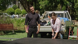 Jack Callahan, Amy Williams in Neighbours Episode 7580