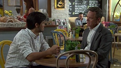 David Tanaka, Paul Robinson in Neighbours Episode 7580
