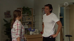 Amy Williams, Leo Tanaka in Neighbours Episode 7580