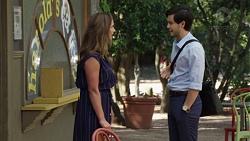 Amy Williams, David Tanaka in Neighbours Episode 7581