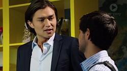 Leo Tanaka, David Tanaka in Neighbours Episode 7581