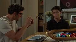 Finn Kelly, Ben Kirk in Neighbours Episode 7581