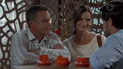 Paul Robinson, Amy Williams, David Tanaka in Neighbours Episode 7581