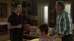 Ben Kirk, Susan Kennedy, Karl Kennedy in Neighbours Episode 7581