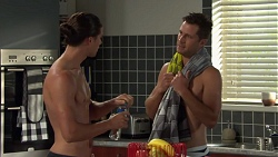Tyler Brennan, Mark Brennan in Neighbours Episode 7582