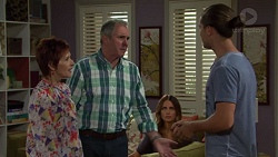 Susan Kennedy, Karl Kennedy, Elly Conway, Tyler Brennan in Neighbours Episode 7582