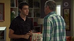 Ben Kirk, Karl Kennedy in Neighbours Episode 7582