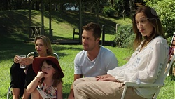 Steph Scully, Nell Rebecchi, Mark Brennan, Sonya Mitchell in Neighbours Episode 7582