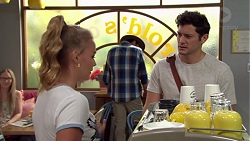 Xanthe Canning, Shane Rebecchi, Finn Kelly in Neighbours Episode 7582