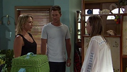 Steph Scully, Mark Brennan, Sonya Mitchell in Neighbours Episode 7583