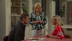 Gary Canning, Sheila Canning, Brooke Butler in Neighbours Episode 7583