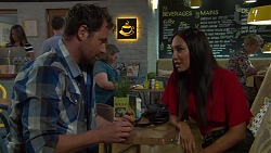 Shane Rebecchi, Mishti Sharma in Neighbours Episode 7584