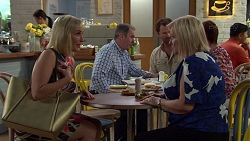 Brooke Butler, Karl Kennedy, Shane Rebecchi, Sheila Canning, Susan Kennedy in Neighbours Episode 7584