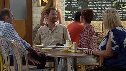 Karl Kennedy, Shane Rebecchi, Susan Kennedy, Sheila Canning in Neighbours Episode 7584