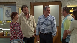 Susan Kennedy, Shane Rebecchi, Karl Kennedy, Toadie Rebecchi, Sonya Mitchell in Neighbours Episode 7584