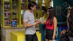 Leo Tanaka, Mishti Sharma in Neighbours Episode 7585