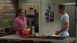 Aaron Brennan, Mark Brennan in Neighbours Episode 7585