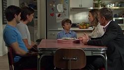 David Tanaka, Leo Tanaka, Jimmy Williams, Amy Williams, Paul Robinson in Neighbours Episode 7585