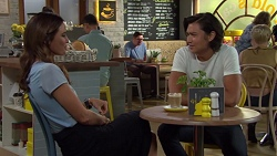 Elly Conway, Leo Tanaka in Neighbours Episode 7586