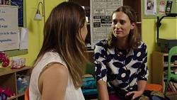 Sonya Mitchell, Myra Blumberg in Neighbours Episode 7586