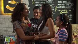 Dipi Rebecchi, Yashvi Rebecchi, Mishti Sharma, Kirsha Rebecchi in Neighbours Episode 7586