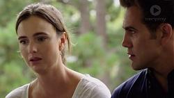 Amy Williams, Aaron Brennan in Neighbours Episode 7587