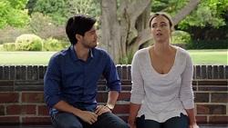 David Tanaka, Amy Williams in Neighbours Episode 7587