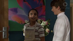 Kirsha Rebecchi, Jimmy Williams in Neighbours Episode 7587