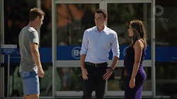 Jimmy Williams, Jack Callaghan, Paige Novak in Neighbours Episode 7587