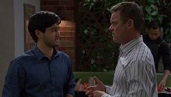 David Tanaka, Paul Robinson in Neighbours Episode 7588
