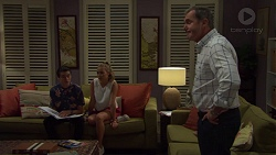 Ben Kirk, Xanthe Canning, Karl Kennedy in Neighbours Episode 7588