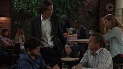 David Tanaka, Leo Tanaka, Paul Robinson in Neighbours Episode 7588