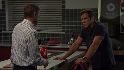 Paul Robinson, Aaron Brennan in Neighbours Episode 7588