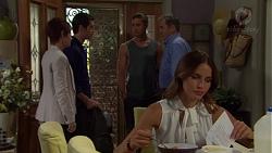 Susan Kennedy, Ben Kirk, Tyler Brennan, Karl Kennedy, Elly Conway in Neighbours Episode 7588