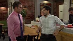 Aaron Brennan, David Tanaka in Neighbours Episode 7588