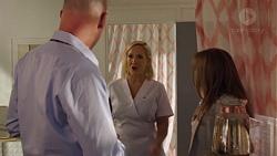 Tim Collins, Brooke Butler, Terese Willis in Neighbours Episode 7588