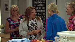 Sheila Canning, Terese Willis, Brooke Butler, Xanthe Canning in Neighbours Episode 7588