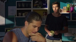 Tyler Brennan, Evan Lewis in Neighbours Episode 7589