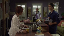 Susan Kennedy, Toadie Rebecchi, Ben Kirk in Neighbours Episode 7589