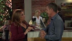 Terese Willis, Brooke Butler, Paul Robinson in Neighbours Episode 7589