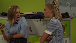 Piper Willis, Xanthe Canning in Neighbours Episode 7589