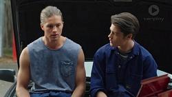 Tyler Brennan, Ben Kirk in Neighbours Episode 7589