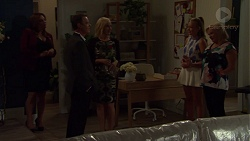 Terese Willis, Paul Robinson, Brooke Butler, Xanthe Canning, Sheila Canning in Neighbours Episode 7589