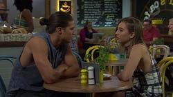 Tyler Brennan, Piper Willis in Neighbours Episode 7589