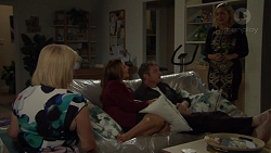 Sheila Canning, Terese Willis, Gary Canning, Brooke Butler in Neighbours Episode 7589