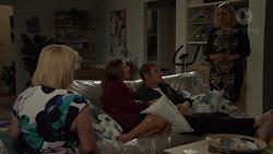 Sheila Canning, Terese Willis, Gary Canning, Brooke Butler in Neighbours Episode 7589