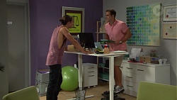 Tyler Brennan, Aaron Brennan in Neighbours Episode 7590