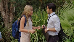 Xanthe Canning, David Tanaka in Neighbours Episode 7590